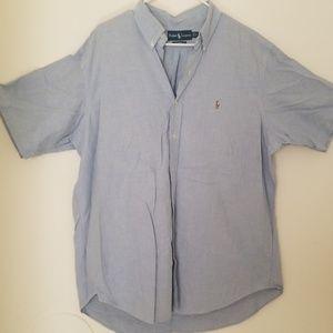 Men's Ralph Lauren Short Sleeve Shirt XL